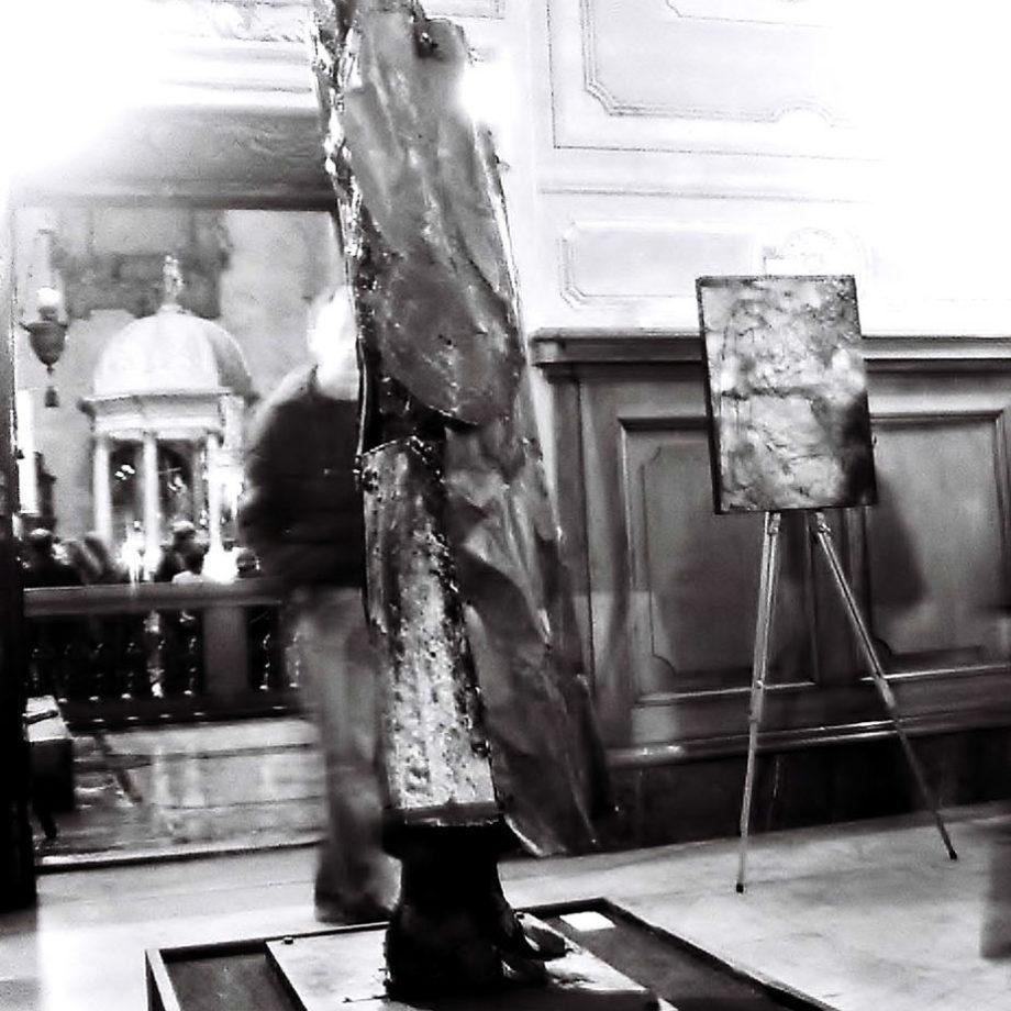 Mostra Personale presso la Basilica di S. Maria in Aracoeli, Roma, 2008