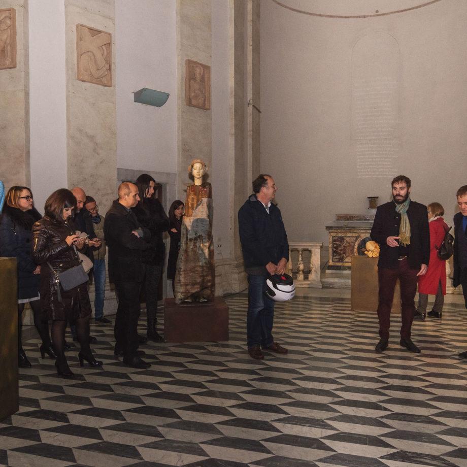 """Inaugurazione della mostra """"La bellezza e la ruggine"""" con Lorenzo Canova e Marco Lodoli"""
