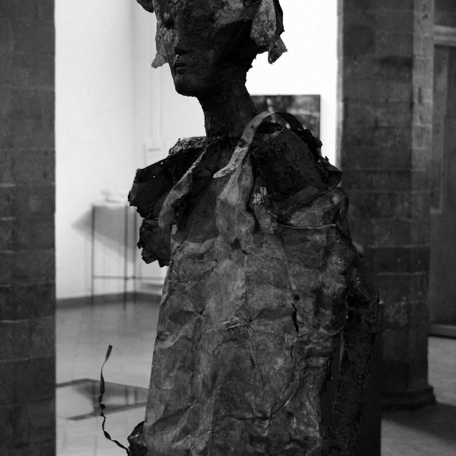 Alessio Deli al Museo Civico U. Mastroianni di Marino.