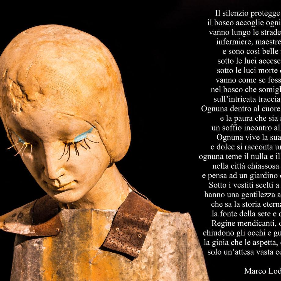 """La poesia inedita di Marco Lodoli ispirata alle opere de """"La bellezza e la ruggine"""" di Alessio Deli"""